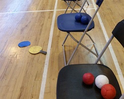 Headway Boccia College Tournament