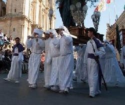 Good Friday Procession in Valletta, Malta.