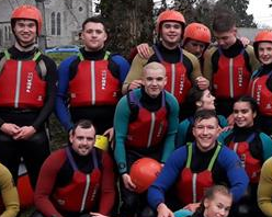 Colaiste Ide Sports Students trip to Adventure Centre